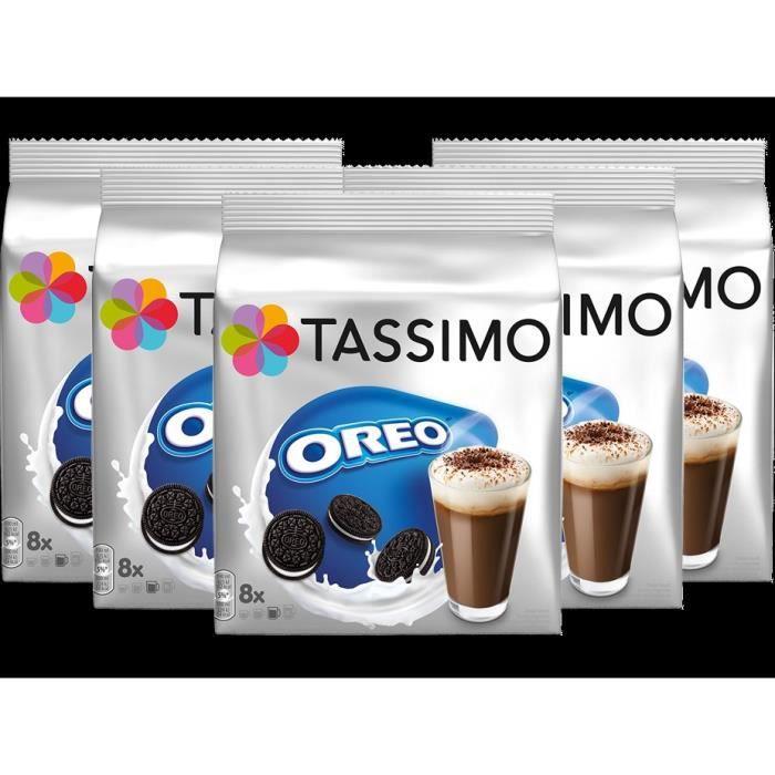 CAFÉ - CHICORÉE TASSIMO Oreo Boisson au chocolat, dosettes à café