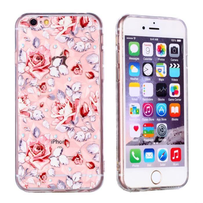 coque iphone 6 incassable rose