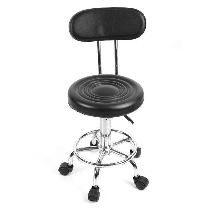 Chaise Reglable Salon De Coiffure Travail Avec Roulettes