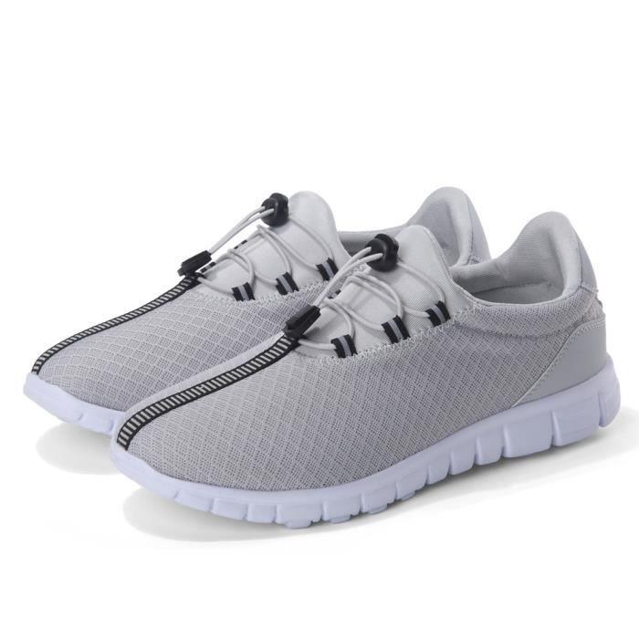 Sneaker Hommes Chaussures de sport Mocassin Meilleure Qualité Confortable De Marque De Luxe Durable Nouvelle Mode 2017 balnc WVrxcd