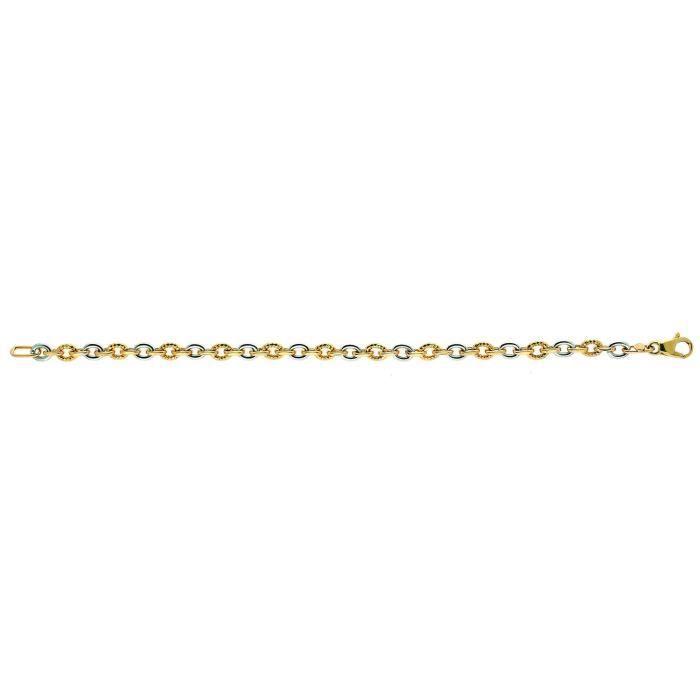 Bracelet bicolore 9 carats