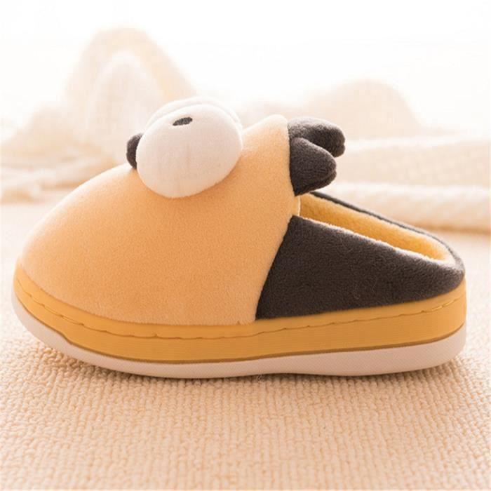 Simpson Chausson Chaussons Plus De Couleur Enfant Haut qualité Nouvelle Mode Mignon Léger Antidérapant Coton Chaud Chaussure 14-22
