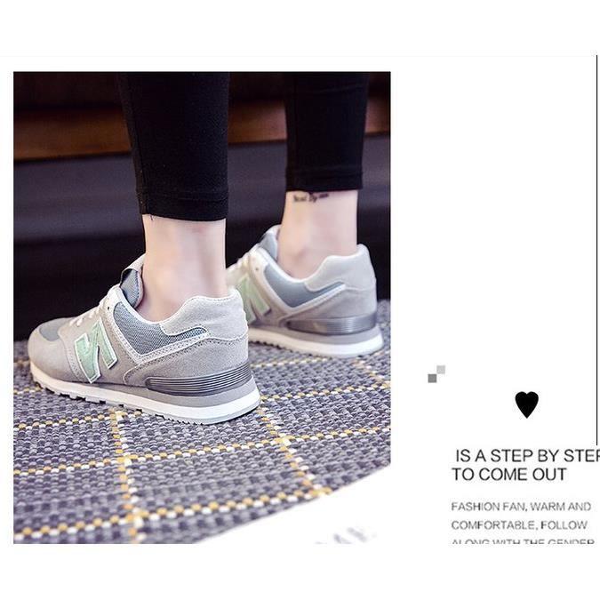Basket Chaussures de sport pour femme chaussures décontractées