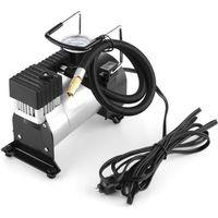 COMPRESSEUR 12V Pompe mobile de compresseur d'air de gonfleur de p