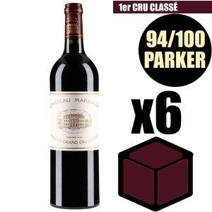 VIN ROUGE X6 Château Margaux 2008 75 cl AOC Margaux Rouge 1e