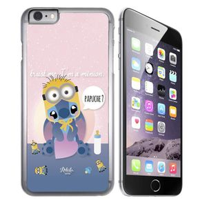 coque iphone 8 stitch silicone 3d