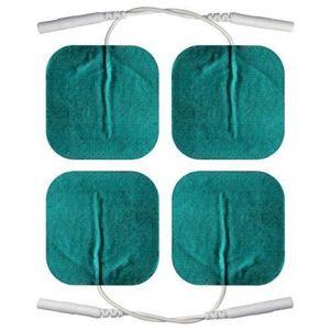 ACCESSOIRE ÉLECTROSTIM Axion - 4 électrodes 5 x 5 cm pour peaux sensibles