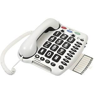 Téléphone fixe Geemarc AmpliPower 50 Blanc Téléphone senior