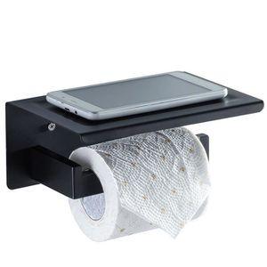SERVITEUR WC Porte Papier WC Porte Papier Toilette en Acier ino