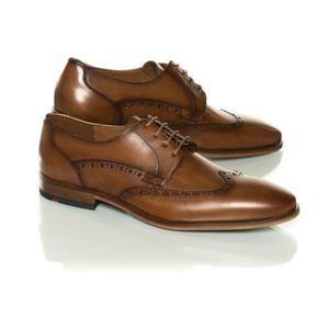RICHELIEU Chaussures nicholas cognac