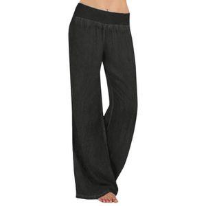 680dab5eca9c0 Pantalon femme taille elastique grande taille - Achat / Vente pas cher
