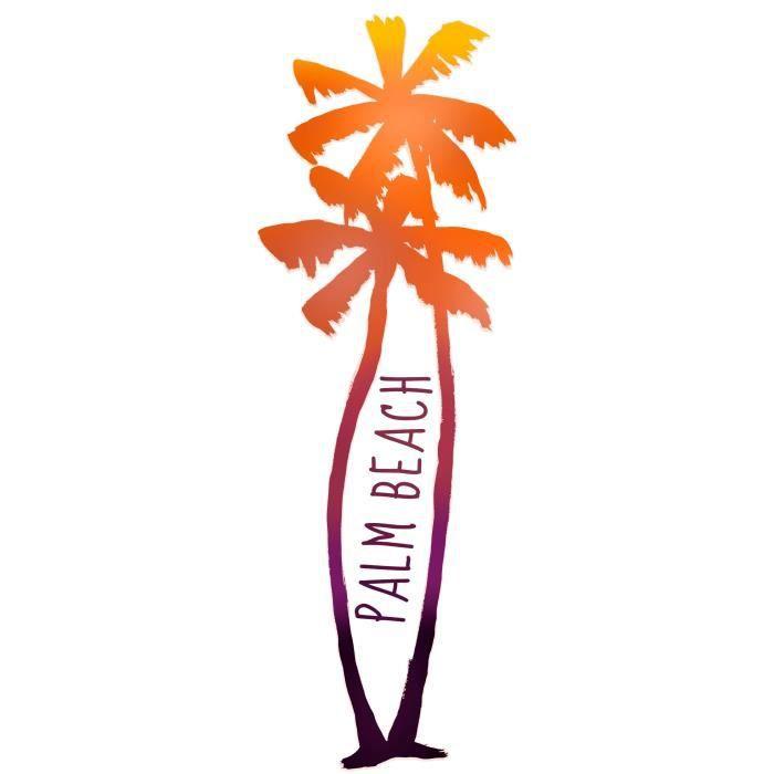 Thème : Nature et paysage - Sticker Décor mural adhésif 3XL - Palm beach 58x170 cmSTICKERS - LETTRES ADHESIVES