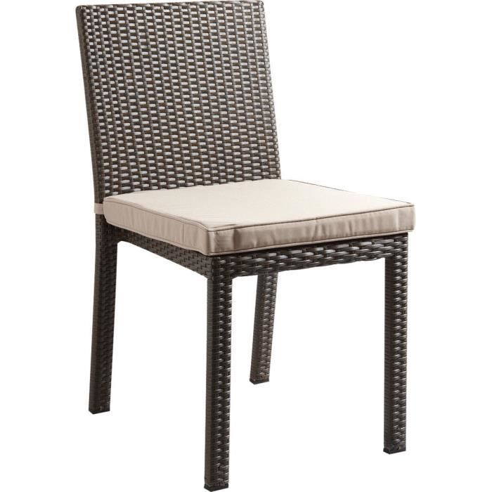 Chaises rotin synthetique - Achat / Vente Chaises rotin ...