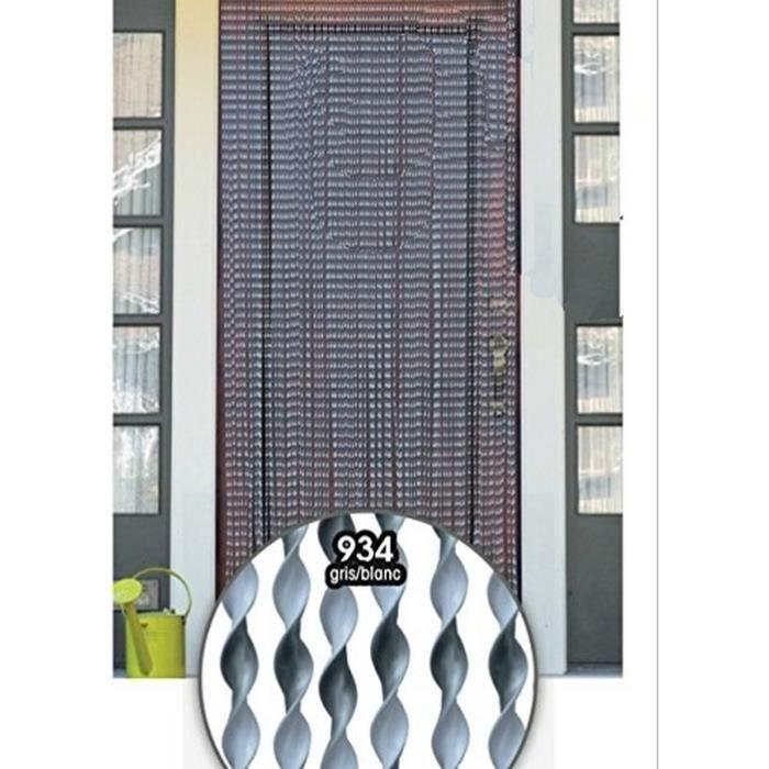 Rideau de porte lanière torsade – rideau de porte 90 x 210 cm – 2