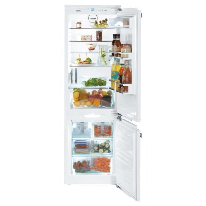 Refrigerateur congelateur encastrable liebherr icn 3366 - Refrigerateur congelateur encastrable froid ventile ...