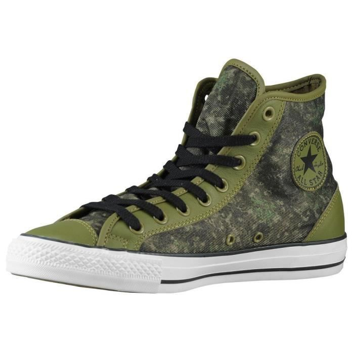 CONVERSE ALL STAR LIMITED MILITARY PIXEL CAMOUFLAGE VERT KAKI