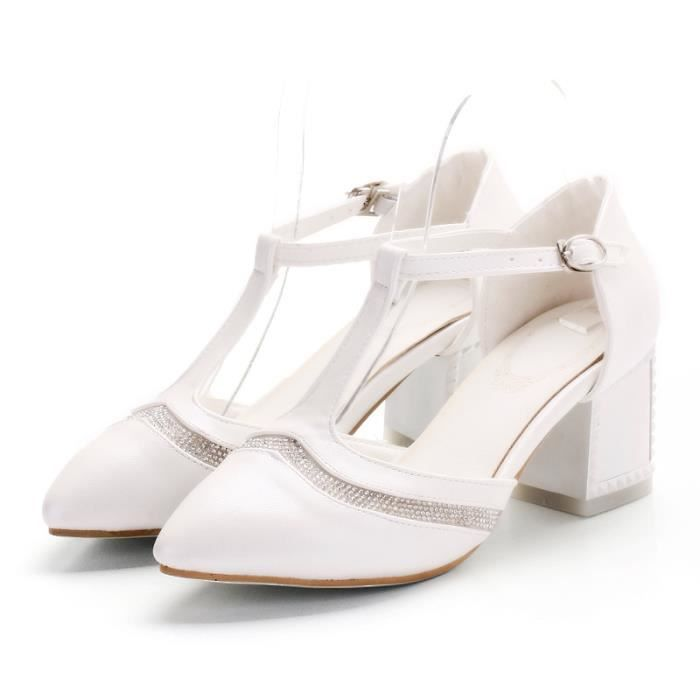 Sandales Femmes Chaussures de Mode Casual Blanc