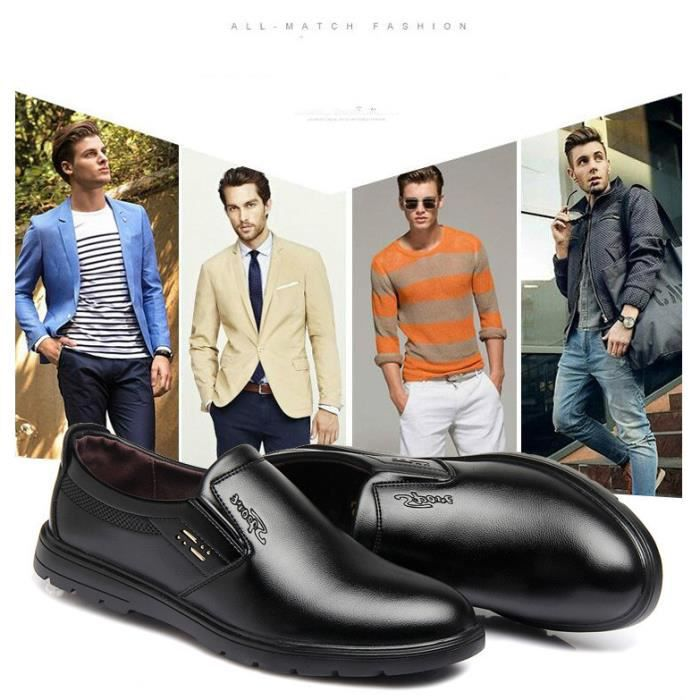 Cuir Homme mocassin chaussures busines