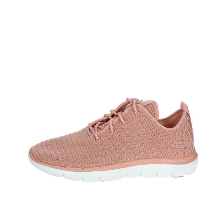 Skechers Petite Sneakers Femme Rose, 39