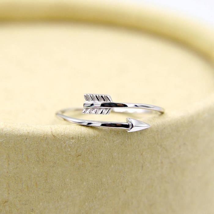 01d123a15fc Bague pour femme bijoux accessoires de mode Argent - Achat   Vente ...
