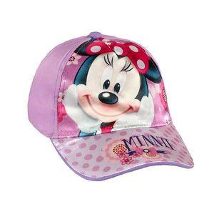 286956977abc ... CASQUETTE Casquette à image de Minnie Mouse Couleur - Violet ...