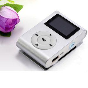 LECTEUR MP3 thanksgi® USB Lecteur MP3 Clip LCD Screen Support