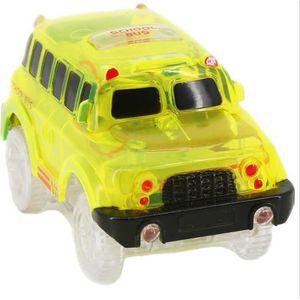 VOITURE - CAMION Dotopon®Autobus scolaires Luminescent Magic Circui