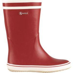 BOTTE AIGLE Bottes de pluie Malouine - Femme - Rouge et