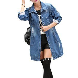 Vente veste en jean femme