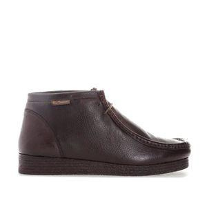 BOTTINE Boots Ben Sherman pour homme en marron.