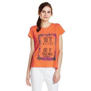 T-SHIRT Lee T-shirt imprimé graphique pour femme TK6V6 Tai