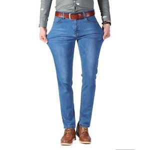 JEANS Jeans hommes denim en conton coupe slim mode élast