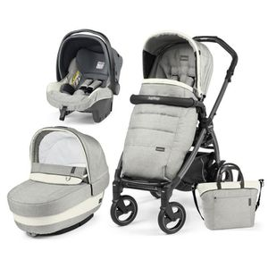 POUSSETTE  TRIO BOOK ELITE LUXE OPAL (Chassis Book 51 S Jet)