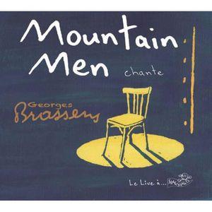 CD VARIÉTÉ INTERNAT Moutain Men chante Georges Brassens  by Moutain…