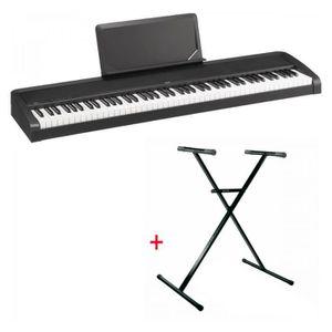 PIANO Pack Korg B2N noir - Piano numérique 88 notes (tou