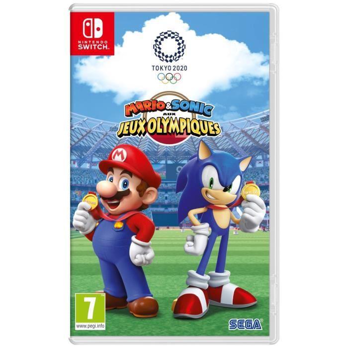 SORTIE JEU NINTENDO SWITCH Jeu Nintendo Switch Mario & Sonic aux Jeux Olympiq
