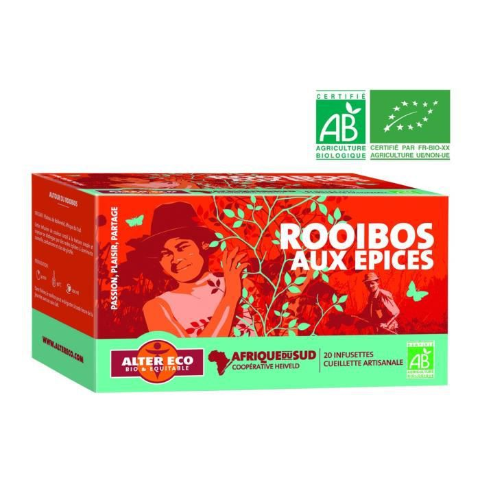 ALTER ECO Rooibos aux Epices Bio 40g