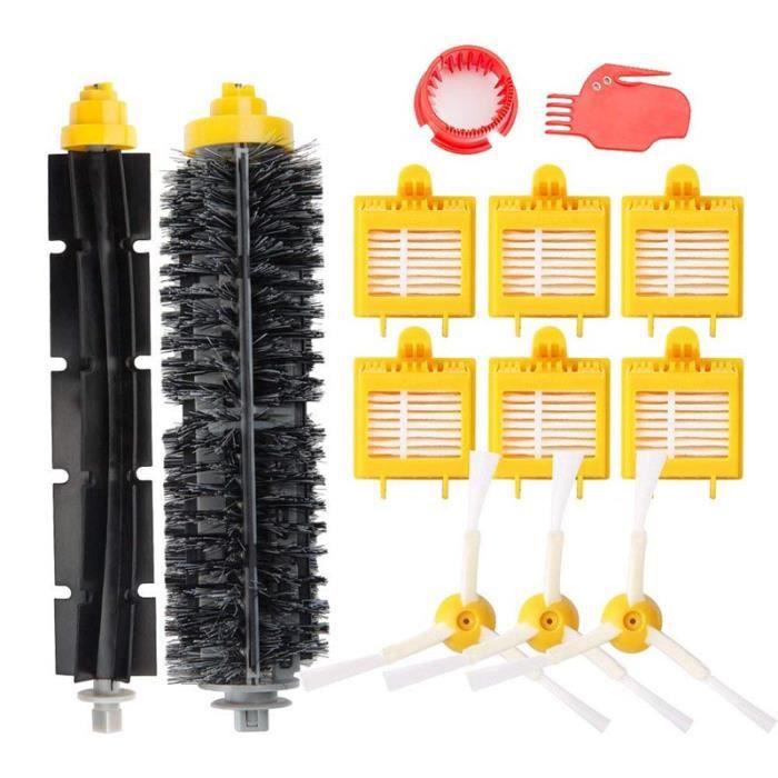 ASPIRATEUR ROBOT Remplaçant Filtres kit Pièces accessoires pour iRo