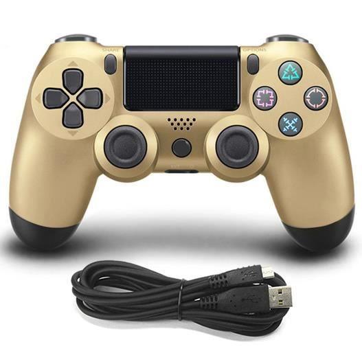 JOYSTICK JEUX VIDÉO Compatible avec PS4 Playstation Câblé Manette de J