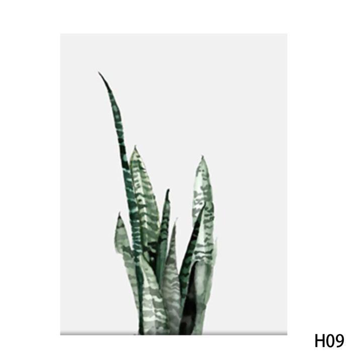 Stickers plantes vertes achat vente pas cher for Ou acheter plantes pas cher