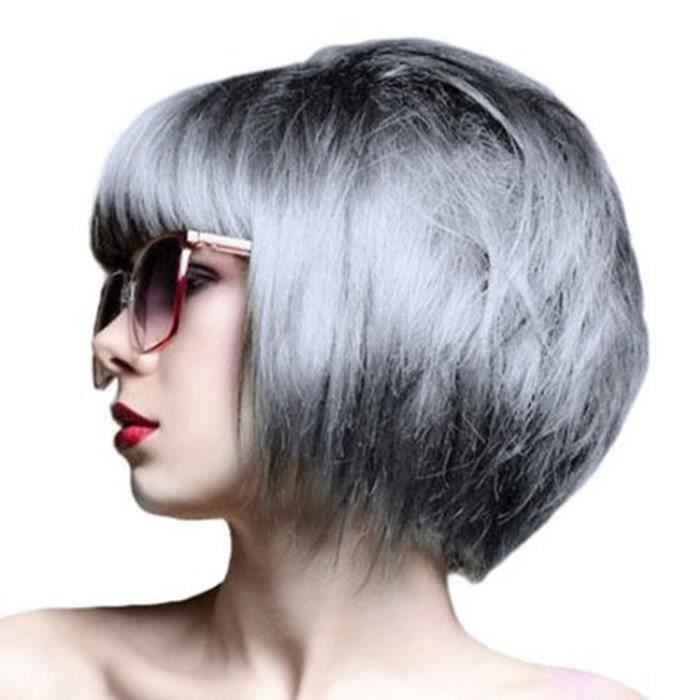 Couleur cheveux gris clair