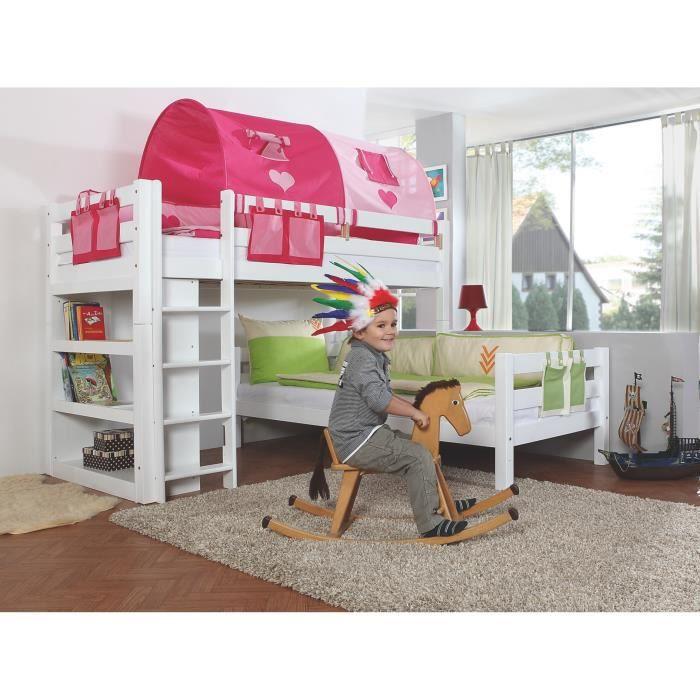 tente lit superpos perfect rideau lit enfant welcome tente with tente lit superpos cool hack. Black Bedroom Furniture Sets. Home Design Ideas