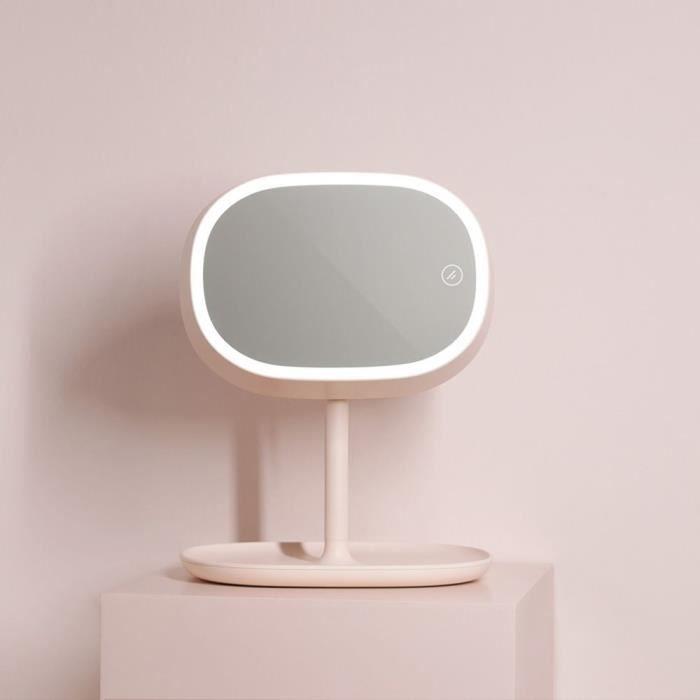 Lampe à Led Miroir Interrupteur Tactile Interrupteur à 2 Vitesses Lampe De Chevet Lampe De Lecturelumière Douce Chaude Et