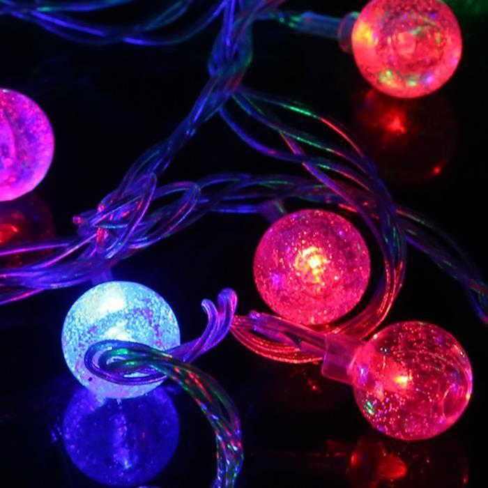 5m Guirlande Lumineuse Exterieur Waterproof Lampe Jardin Pour Noel