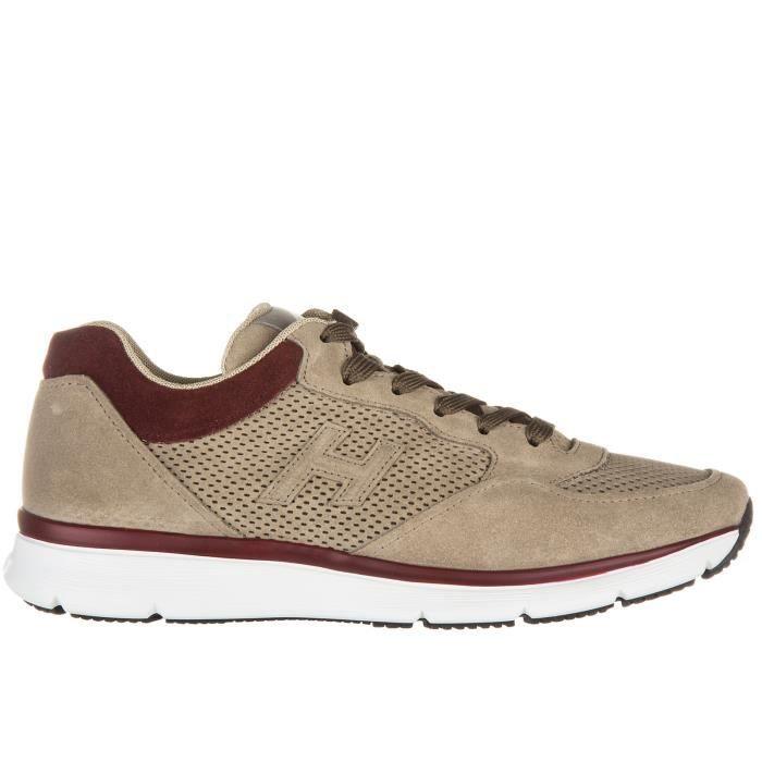Chaussures baskets sneakers homme en daim h254 3d forato Hogan PR44K5d