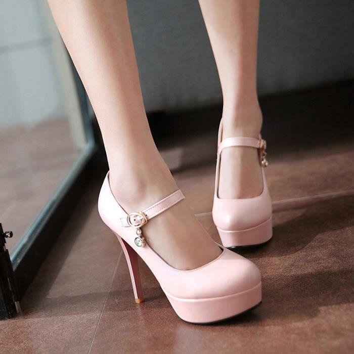 Femmes Talons Chaussures Escarpins Party Femmes Chaussures Plateforme Escarpins Chaussures de mariage Stiletto