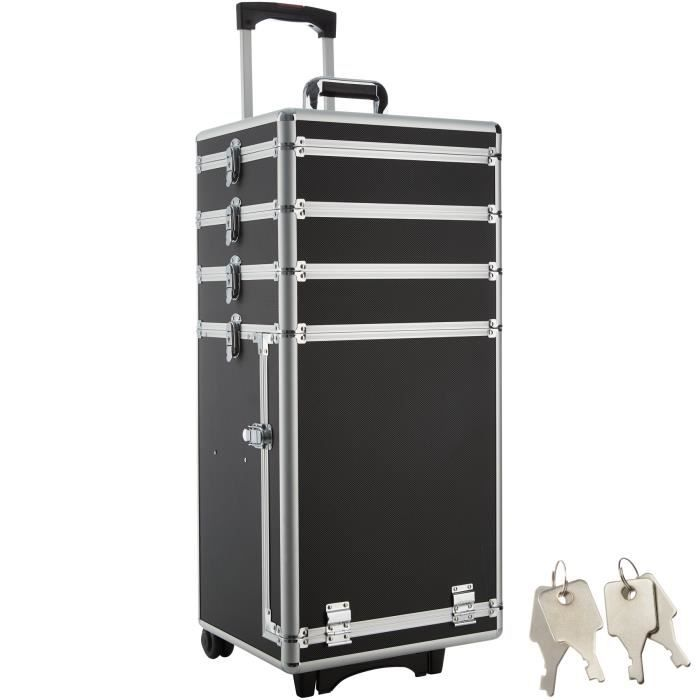 valise trolley esth tique malette cosm tique coiffure. Black Bedroom Furniture Sets. Home Design Ideas