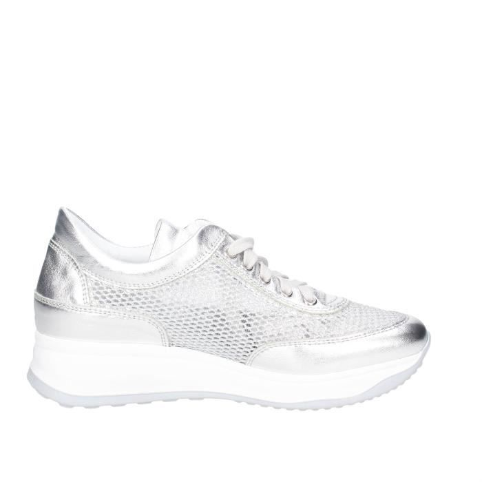Agile By RucolinePetite Sneakers Femme Argent , 37