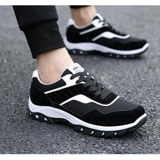 Mode pour hommes Chaussures de course Plate-forme Chaussures de sport de plein air de marche Casual Sneakers Secouer Taille