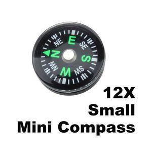 BOUSSOLE - COMPAS 20mm Lot de 12pcs petites Mini boussoles pour Camp